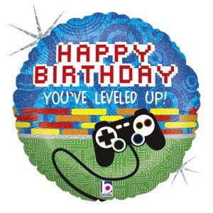 18″ BETALLIC HAPPY BIRTHDAY