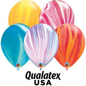 "11"" ( 28 cm ) Qualatex agate"